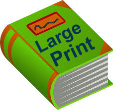 Large Print Book