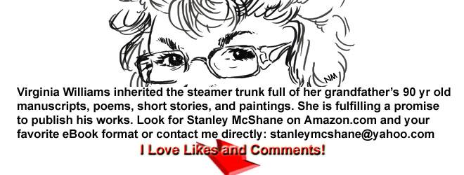 """""""James Michener Protagonist""""–Stanley McShane"""