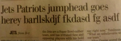 Botched Headline