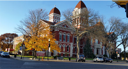 Old Lake County Courthouse, Crown Point, Indiana