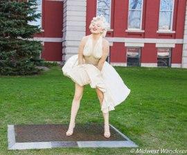 Marilyn Monroe, Sculpture by Seward Johnson