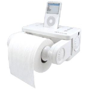 iPod Toilet Paper Holder