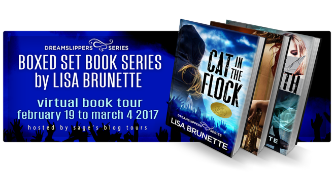 Brunette book blog banner