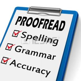 Spelling-Grammar check