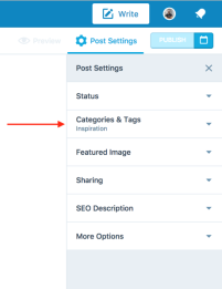 WP Categories & Tags