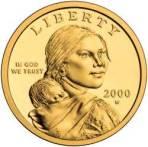 Sacajawea gold $1 coin