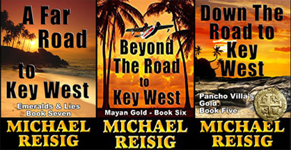 Sample Michael Reisig action adventure Road to Key West series.