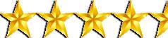4.5 of five stars