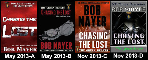 Chasing the Lost by author Bob Mayer