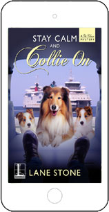 Stay Calm and Collie On by Lane Stone