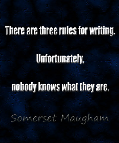 Saying by Somerset Maugham