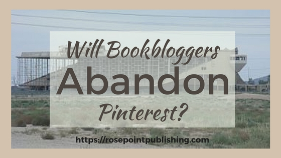 Will Bookbloggers Abandon Pinterest?