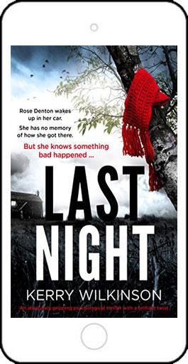 Last Night by Kerry Wilkinson