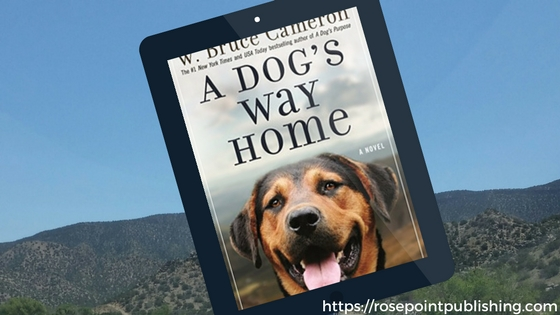 #amreading-A Dog's Way Home by W. Bruce Cameron
