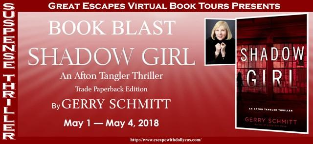 Book Blast banner for Shadow Girl by Gerry Schmitt