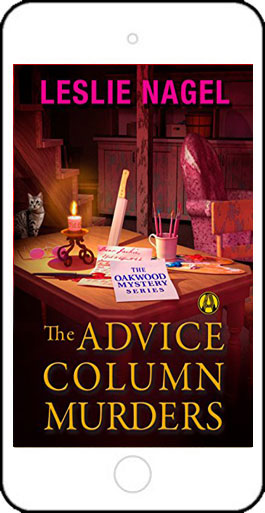 The Advice Column Murders by Leslie Nagel