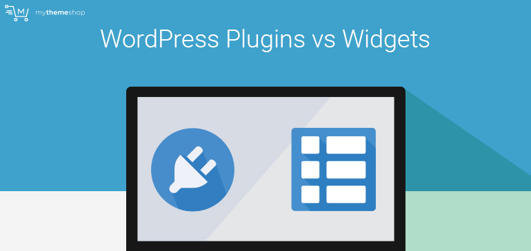 WordPress-Plugins vs Widgets from My Theme Shop