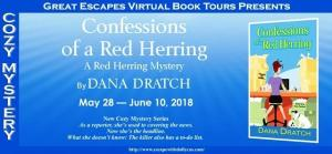Confessions of a Red Herring Book Tour