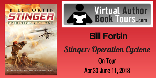 Stinger Blog Tour by Virtual Author Book Tours