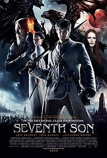 Theatrical poster for Seventh Son from Wikipedia