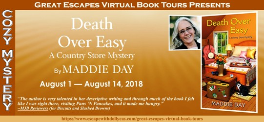 Death Over Easy by Maddie Day