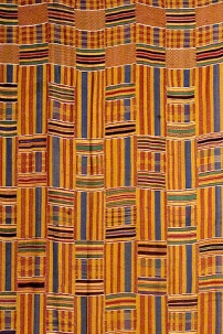 Kente Cloth - photo from Wikipedia