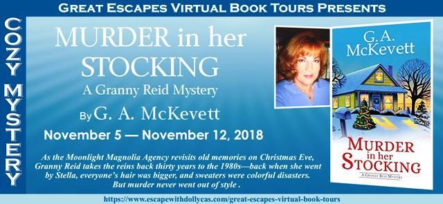 Murder in Her Stocking by G A McKevett