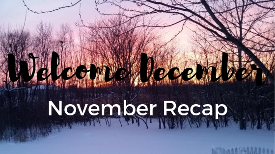 Welcome December-November Recap