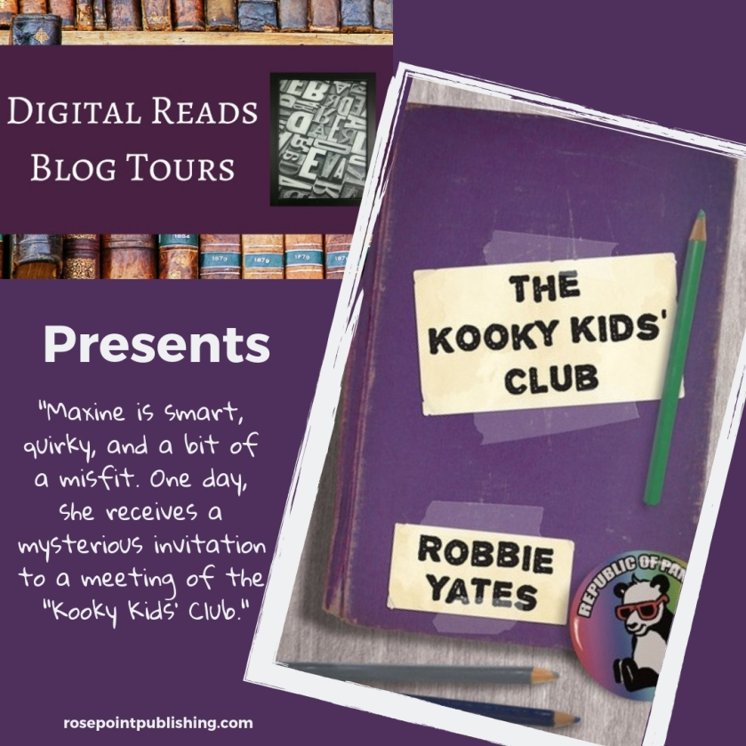 Digital Reads Blog Tours presents The Kooky Kids' Club by Robbie Yates