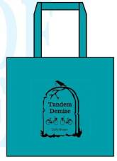 Tandem Demise Tote Bag for Duffy Brown - author