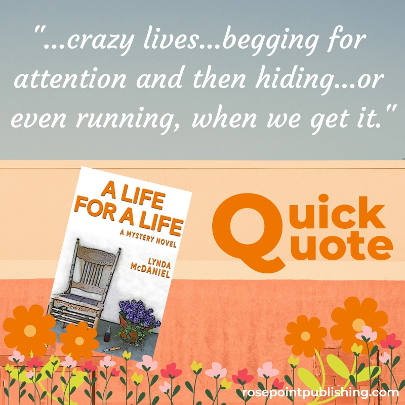 Quick Quote-A Life for a Life
