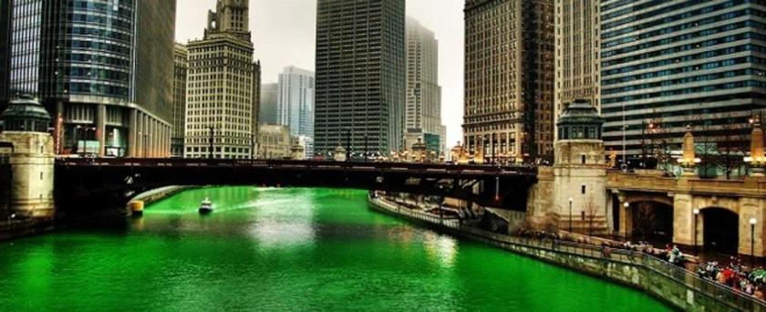 Chicago River ready for St. Patrick's Day