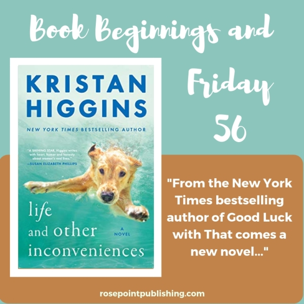 Book Beginnings and The Friday 56
