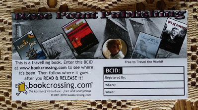BookCrossing card
