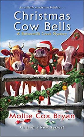 Christmas Cow Bells by Mollie Cox Bryan