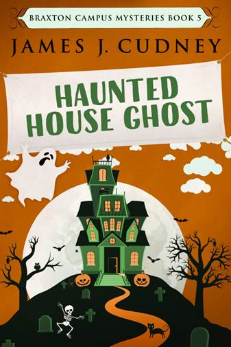 Haunted House Ghost by James J Cudney