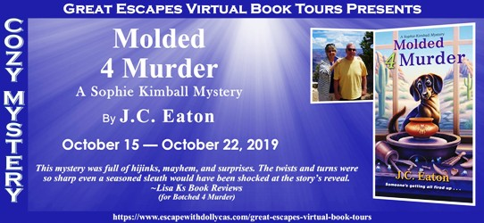 Molded 4 Murder by J C Eaton