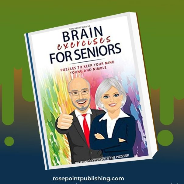 Brain Exercises for Seniors by Jenny Patterson and The Puzzler