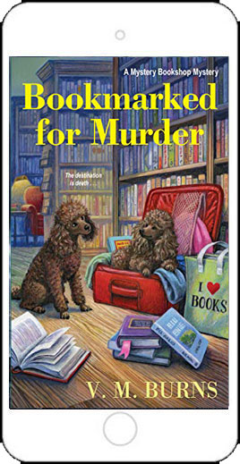 Bookmarked for Murder by V M Burns
