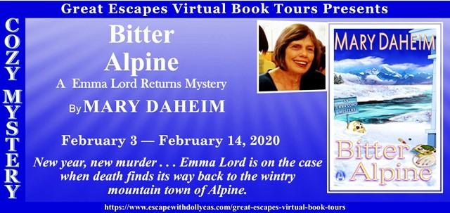 Bitter Alpine - A Emma Lord Returns Mystery by Mary Daheim
