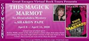 This Magick Marmot banner for blog tour