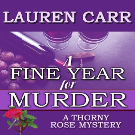 Fine Year for Murder Audio Book Cover