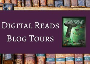Digital Reads Blog Tour of The Defense of Exeter Station