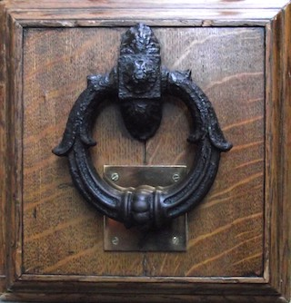 Newgate's Knocker - Entry to Newgate Prison, London
