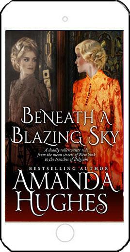 Beneath a Blazing Sky by Amanda Hughes