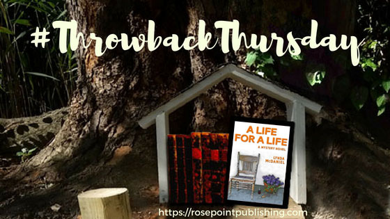 #ThrowbackThursday - A Life for a Life by Lynda McDaniel