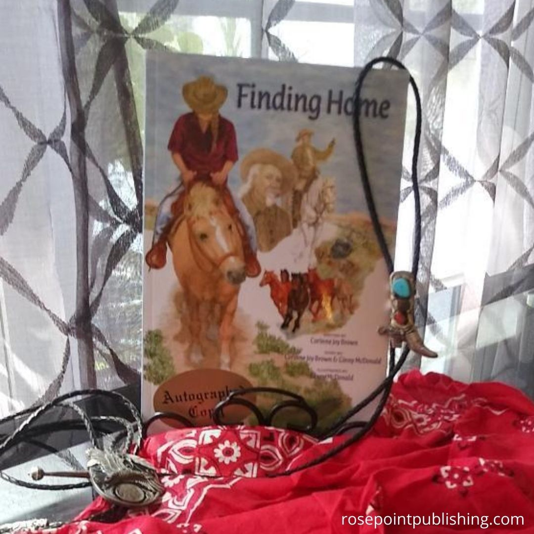 Finding Home by Corinne Joy Brown & Ginny mcDonald