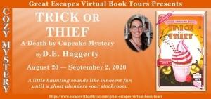 Trick or Thief by DE Haggerty