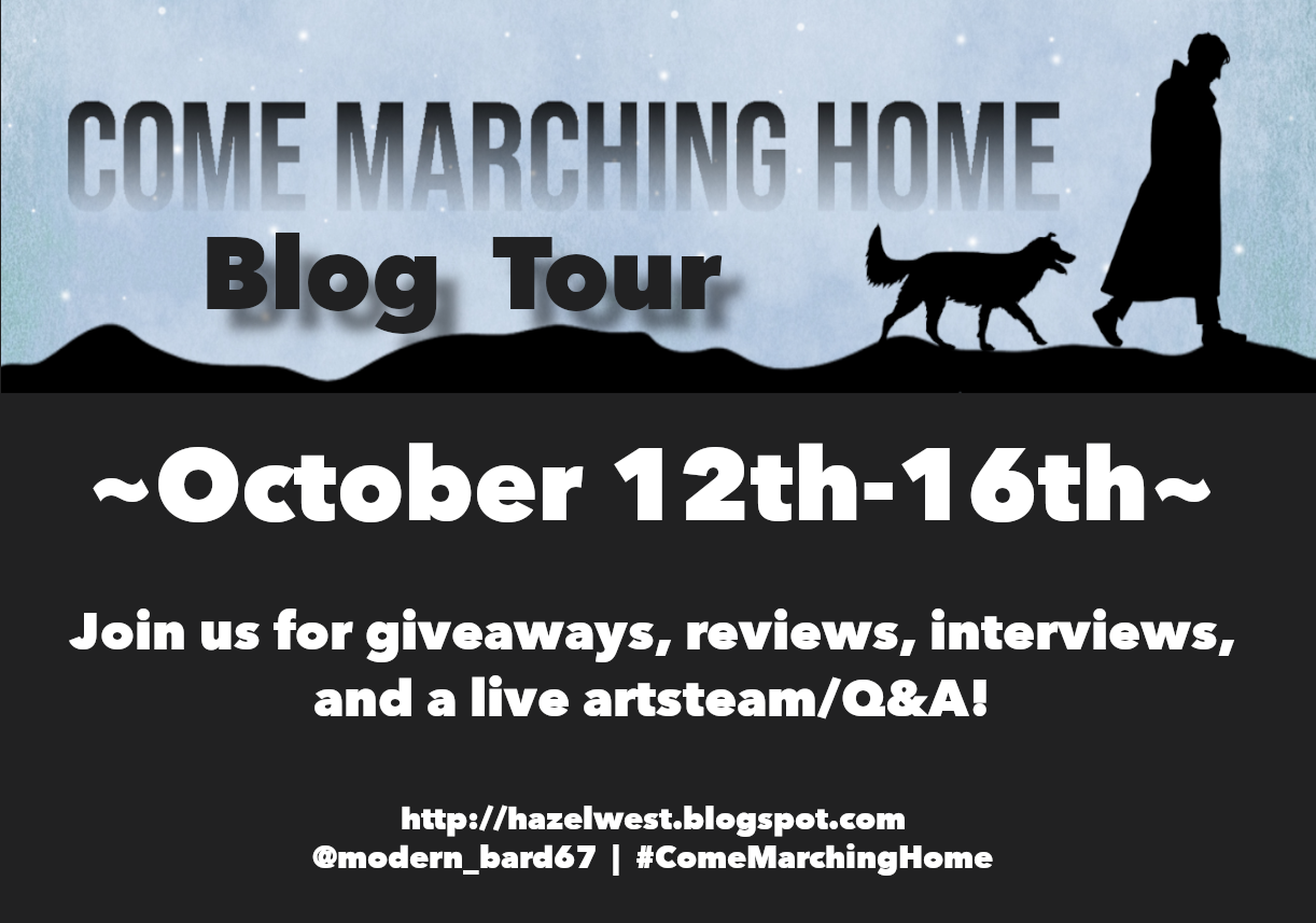 Come Marching Home Blog Tour