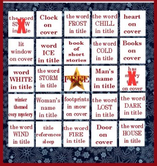 Winter Book Bingo-#fictionophile